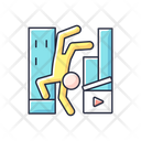 Parkour Freerunning Action Icon