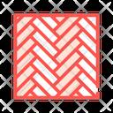 Parquet Floor Color Icon