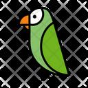 Parrot Green Parrot Bird Icon