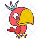 Bird Parrot Head Parrot Icon