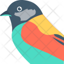 Parrot Bird Head Icon