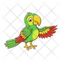 Parrot Bird Wildlife Icon