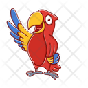Parrot Macaw Bird Icon