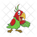 Parrot Bird Cockatoo Icon