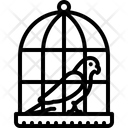 Parrot In A Cage Parrot Cage Icon