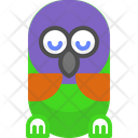 Parrot Sleep Icon