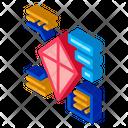 Parsing Kite Toy Icon