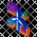 Parsing Study Windmill Icon