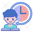Part Time Student Avatar Study Icon