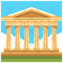Parthenon Greece Landmark Icon