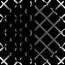 Partial Fractional Fragmental Icon