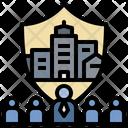 Participate Defensive Teamwork Icon