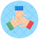 Hands Together Hands Gesture Shaking Hand Icon