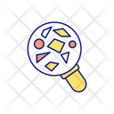 Magnifying Glass Types Icon