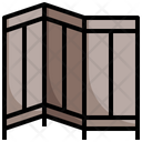 Partition Curtain Furniture Icon