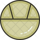 Partition Plate Plate Food Icon