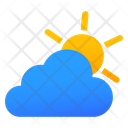 Partly Sunny Cloudy Icon
