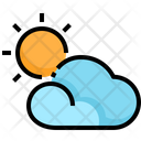 Partly Cloud Partly Cloudy Weather Partly Cloud Day Icon