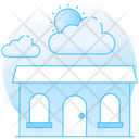 Cloudy Weather Increasing Clouds Weather Forecast Icon