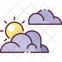Partly Cloudy Cloudy Weather Icon