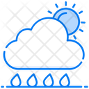 Partly Cloudy Cloudy Weather Partly Sunny Icon