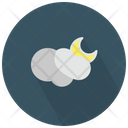 Partly Cloudy Night Icon