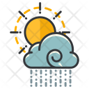 Partly Rain Cloud Icon