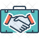 Partner Briefcase Business Icon