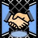 Partner Business Digital Icon