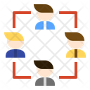 Partners Connection Business Icon