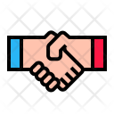 Partnership Deal Hand Icon
