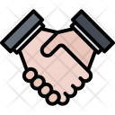 Hand Shake Partnership Icon
