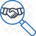 Partnership Business Research Icon