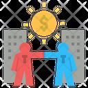 Partnership Shareholder Business Icon