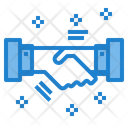 Handshake Partnership Contract Icon
