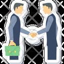 Partnership Business Businessman Icon