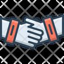 Partnership Collaboration Complicity Icon