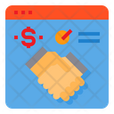 Browser Agreement Partnership Icon
