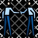Partnership Teamwork Success Icon