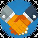Partnership Handshake Handclasp Icon