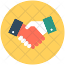 Partnership Shake Hands Icon