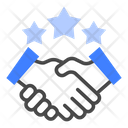 Partnership Contract Collaboration Icon