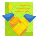 Partnership Contract Agreement Icon
