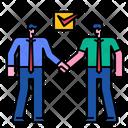 Partnership Business Relation Teamwork Icon