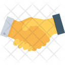 Partners Businessmen Deal Icon