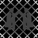 Successful Partnership Human Icon