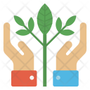 Partnership Concept Growing Icon
