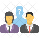 Business Confusion Partnership Icon