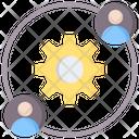 Partnership Cycle Icon