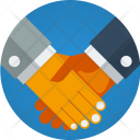 Partnership Deal Shake Icon